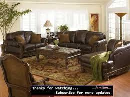 leather livingroom set furniture anondale formal leather living room set regarding