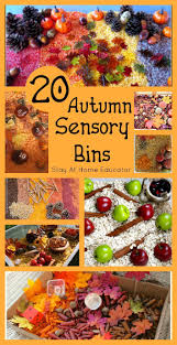 203 best holiday fall autumn sensory activities images on