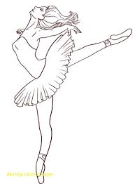 dancing coloring pages with ballet dancer coloring pages 381
