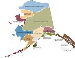 Kotzebue Alaska Map by Region 9 National American Indian Housing Council