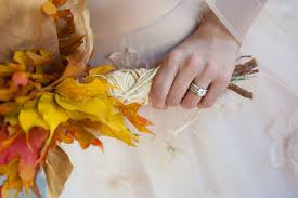 Leaf Table Runner An Autumn Foliage Wedding Fit For A Princess Featuring A Floor