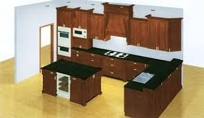 computer generated drawings for kitchen bath remodeling in
