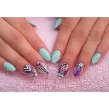 miętuski semilac diamondcosmetics ilovesemilac nailart