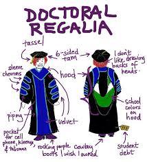 faculty regalia on academic regalia geeky artist librarian