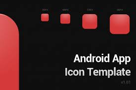 android icon size play icon template android app design sparktech software