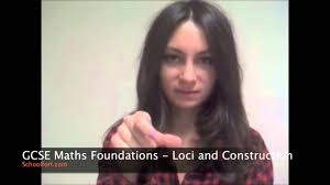 loci and construction gcse maths f exam question youtube