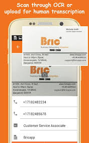 Business Card Reader Scanner Bric Business Card Scanner Android Apps On Google Play