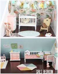 dollhouse furniture kitchen diy dollhouse living room and kitchen