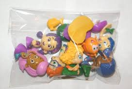 guppies cake toppers nickelodeon guppies deluxe figure set playset of 12