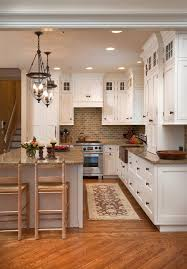 robinson veneer brick backsplash kitchen farmhouse with wraparound