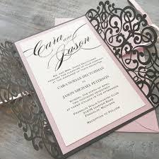 laser cut invitations laser cut invitations paper lace