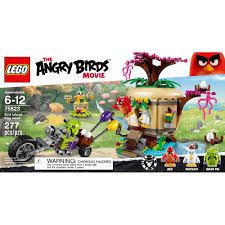lego angry birds bird island egg heist 75823 walmart com