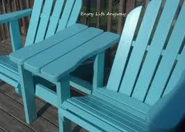 Adirondack Deck Chair Outdoor Wood Plans Download by Look What We Made Diy Twin Adirondack Chairs And They Are