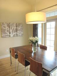transitional dining room lighting minimalist direct drum pendant l