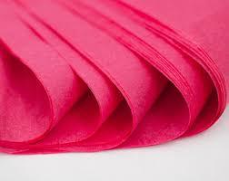 pink tissue paper pink tissue paper etsy