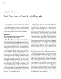 chapter 5 best practices case study reports accelerating