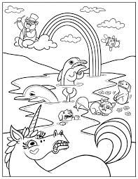 coloring pages kids printable print cartoons fall titanic