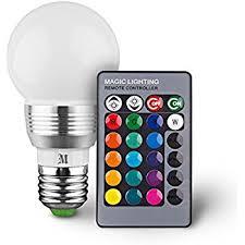 kobra retro led color changing light bulb with remote 16