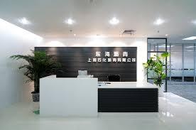 Unique Reception Desks Office Black Reception Desk 12 Exles Of Black