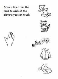 5 senses worksheets for kindergarten posted by christine at 3 14