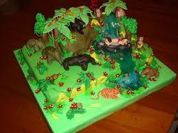 jungle cakes u2013 decoration ideas little birthday cakes