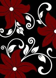 Red Black White Area Rugs Red Black And Gray Area Rugs Discount U0026 Overstock Wholesale