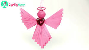 paper quilling angel ornament christmas angel ornament crafts for