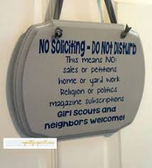 no soliciting we found jesus we love our vacuum unless your