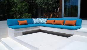 Outdoor Cushion Covers For Patio Furniture - furniture iron sectional sofa with grey cushion seat by sunbrella