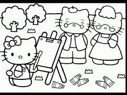 278 coloring kitty images draw