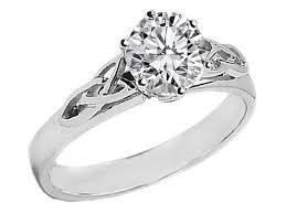 celtic engagement rings engagement ring platinum celtic knot solitaire diamond engagement