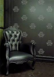 Damask Wall Decor Clipart Of A Black And White Damask Design 3 Royalty Free Vector