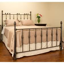 bed frames wrought iron queen bed black cast iron king size bed