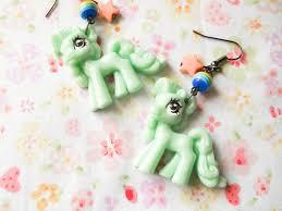 my pony earrings big kawaii pony earrings kawaii earrings earrings big