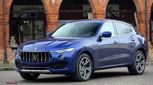 maserati chrome blue maserati levante suv unveiled in india launch in q4 2017 team bhp
