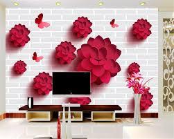 papier peint moderne chambre moderne chambre salon fond décoration 3d papier peint mur de briques