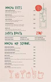 blue martini menu mocha menu menu for mocha gomti nagar lucknow zomato