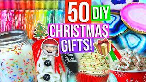 50 diy christmas gift ideas youtube