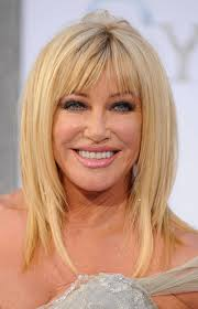 2014 hairstyles for women over 40 women full fringe hairstyles for curly hair popular long