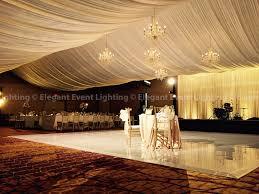 Wedding Ceiling Draping by Ceiling Draping Wedding Backdrop U0026 White Vinyl Dance Floor