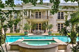 neoclassical french mansion in beverly hills 9742 wendover drive