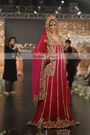 anarkali wedding dress shocking pink bridal wear anarkali pishwas dress designer