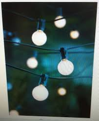 Outdoor Bulb Lights String by Outdoor Globe String Lights White U2014 All Home Design Ideas