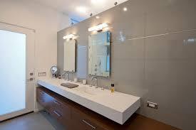 Mid Century Modern Bathroom Lighting Bathroom Mid Century Modern Bathroom Vanity Led Light With Two Mid