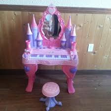 Disney Princess Vanity And Stool Disney Vanity Piano Piano Ideas