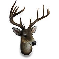 deer head amazon com resin wall sculptures 12 point buck deer head bust wall