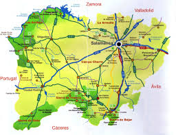 Map Of Northern Spain by Northern Spain U2013 The City Of Salamanca Another Bag More Travel
