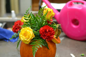 pumpkin centerpiece tutorial caan floral u0026 greenhouses
