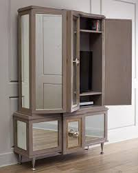 Entertainment Storage Cabinets Gray And Silver Entertainment Cabinet