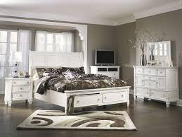 ashley bedroom ashley furniture prentice sleigh storage bedroom set in white best